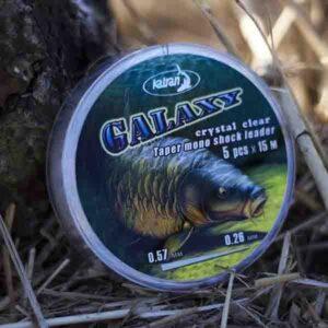 KATRAN Taper mono shock leader GALAXY cast(5pzz x 15m) 3 - Filati da pesca