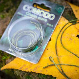 lead core COMODO camo green black 80 lb 5 m 1