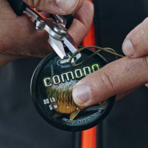 lead core COMODO camo green black 80 lb 5 m