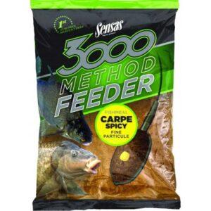 SENSAS 3000 METHOD CARPE 1KG - Esche da Pesca