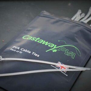 CASTAWAY Fascette PVA CABLE TIES- Accessori da pesca