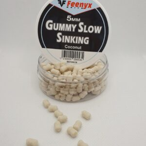 FEENYX Gummy Slow Sinking Coconuts - Esche da pesca