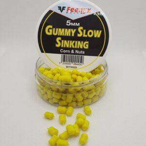 FEENYX Gummy Slow Sinking Corn & Nuts- Esche da pesca